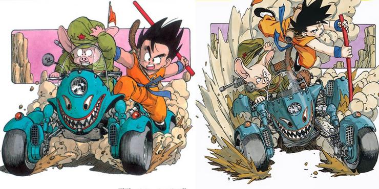 Latest Dragon Ball Cover Art