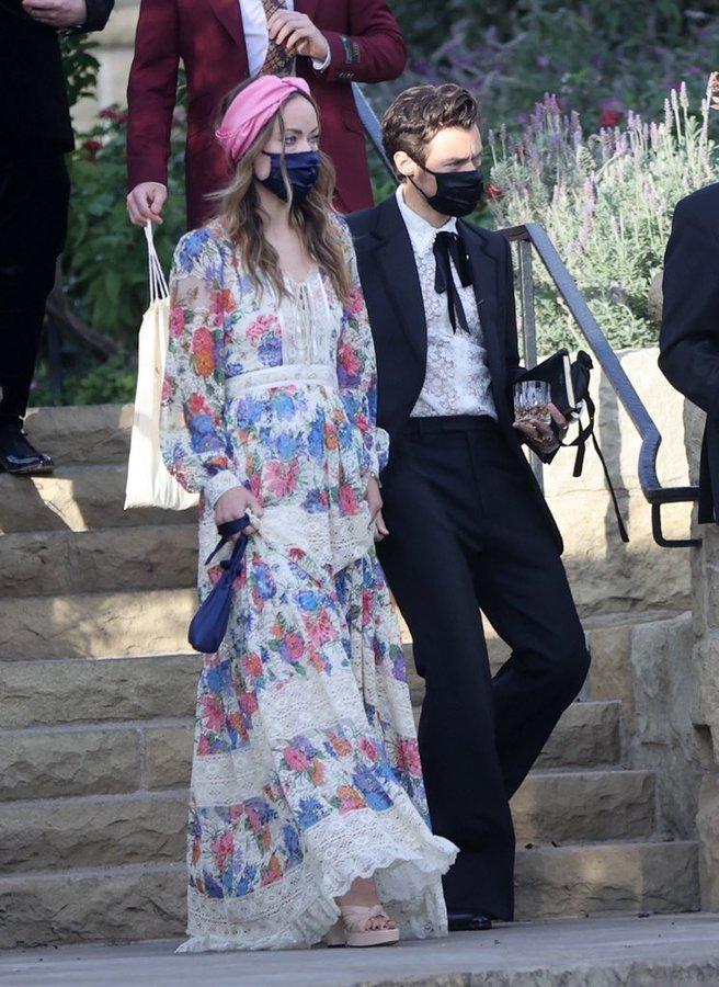 Olivia Wilde with Harry Styles